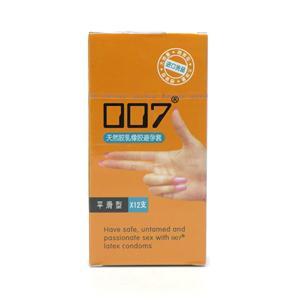 007天然膠乳橡膠避孕套