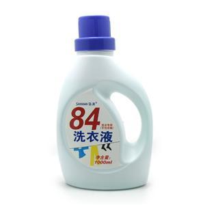 84洗衣液