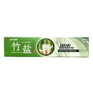 竹鹽固齒源牙膏