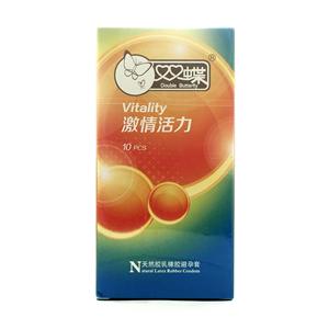 双蝶天然胶乳橡胶避孕套
