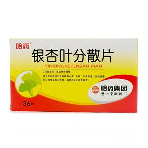 銀杏葉分散片