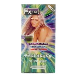 醉美天然胶乳橡胶避孕套
